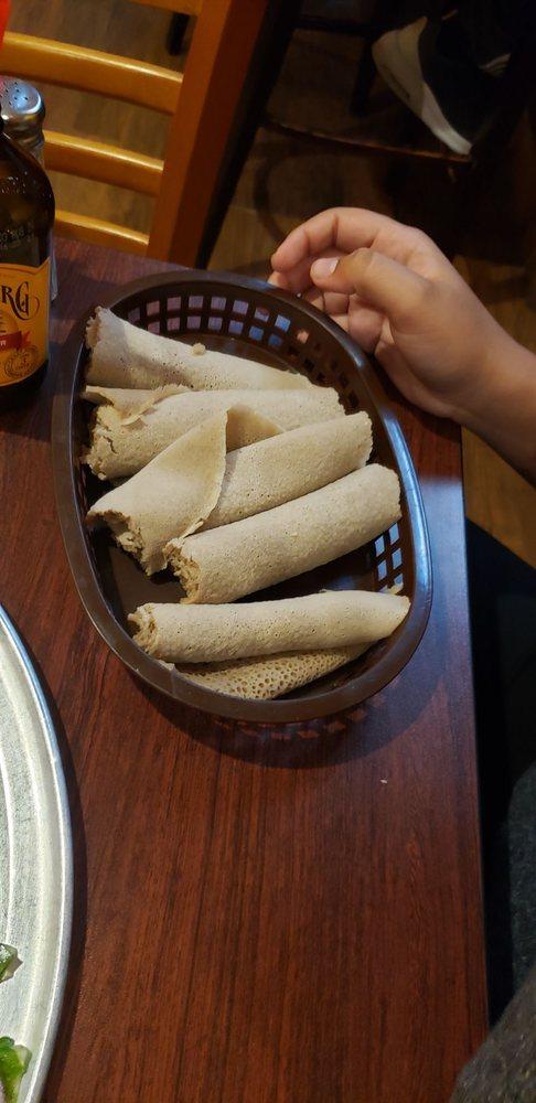 Queen of Sheba Ethiopian restaurant: 630 N La Brea Ave, Inglewood, CA