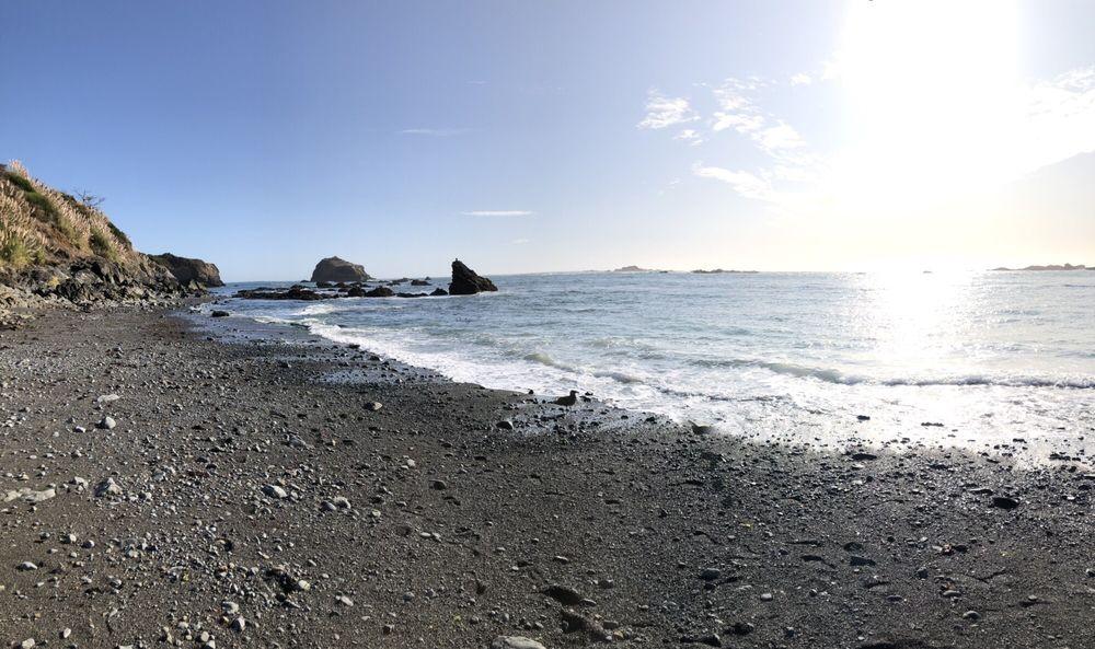 Van Damme Beach: Hwy 1, Little River, CA