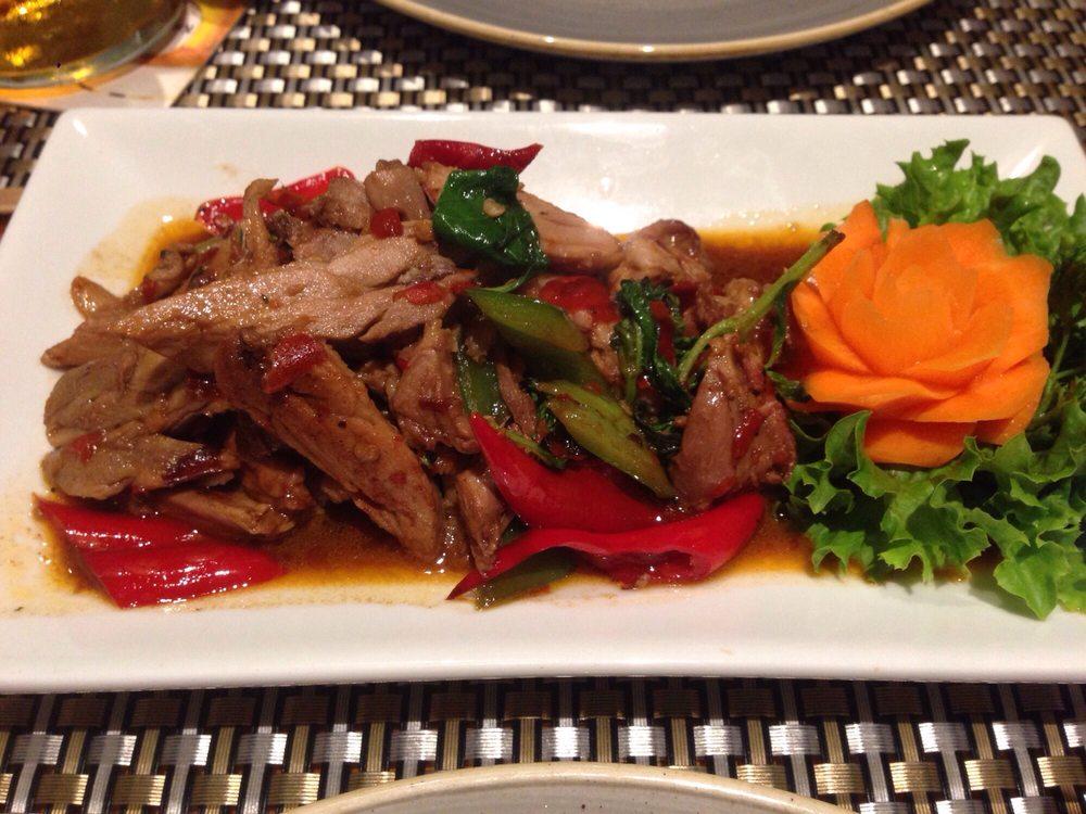 516 mittagskarte ente mit chili und basilikum yelp for 22 thai cuisine yelp
