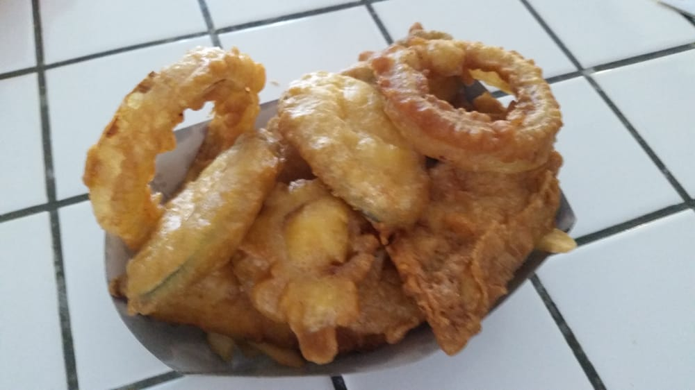 Fish fries zucchini and onion rings yelp for Atlantic fish fry