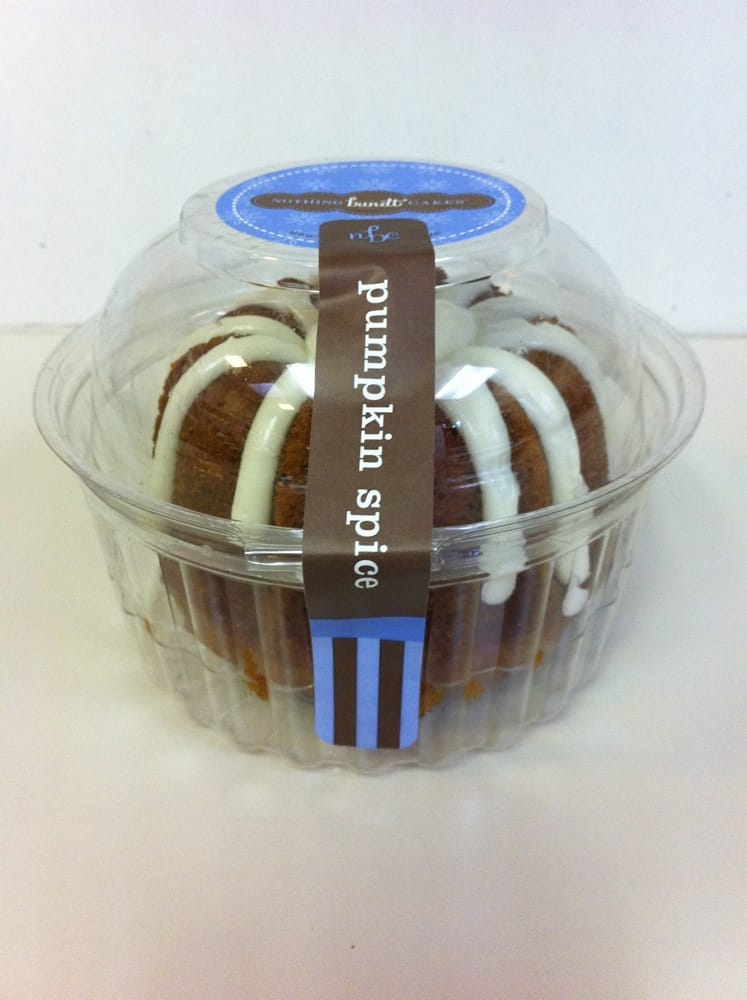 Nothing Bundt Cakes Pumpkin Spice