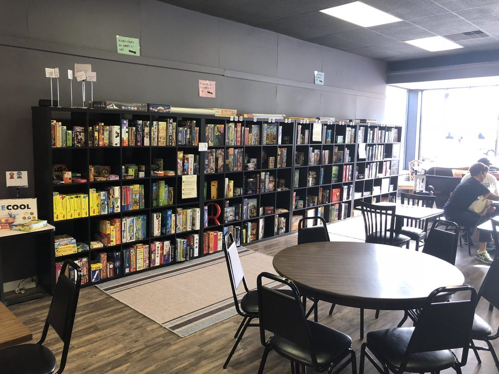 Board Game Cafe: 324 N Main St, Maryville, MO