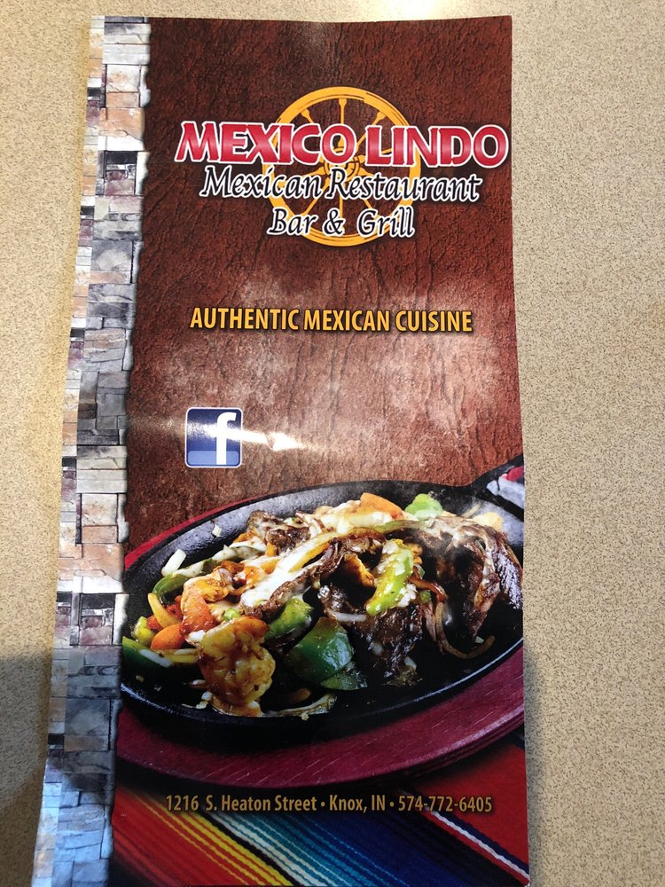 Mexico Lindo: 1216 S Heaton St, Knox, IN