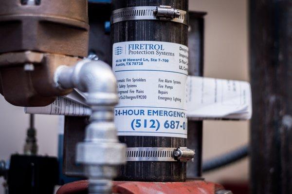 Firetrol Protection Systems 4616 W Howard Ln Austin, TX Fire
