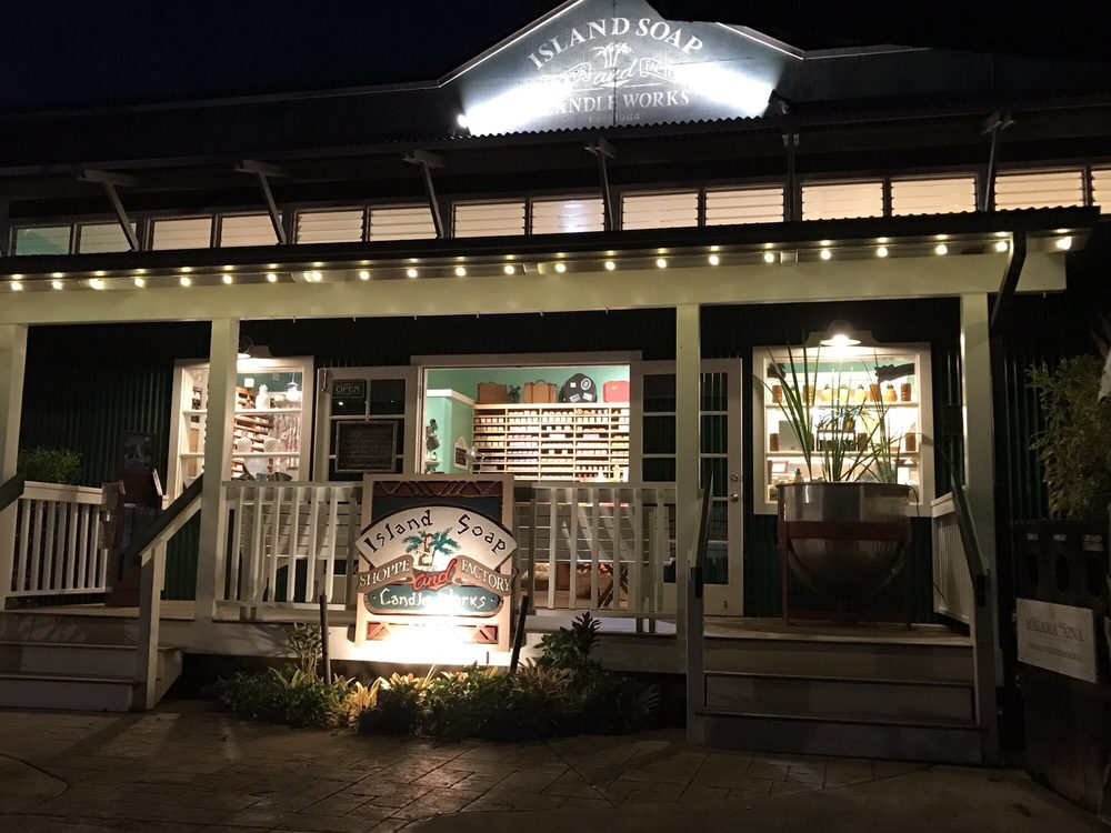Island Soap & Candle Works: 2555 Ala Namahana Pkwy, Kilauea, HI