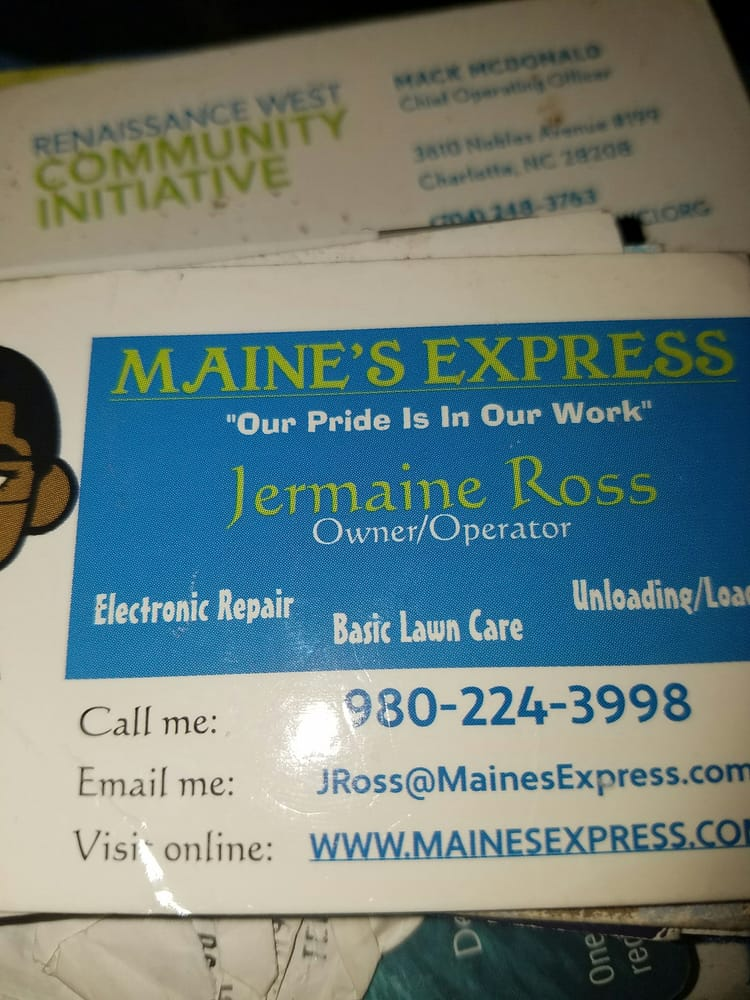 Maine's Express: Columbus, NC