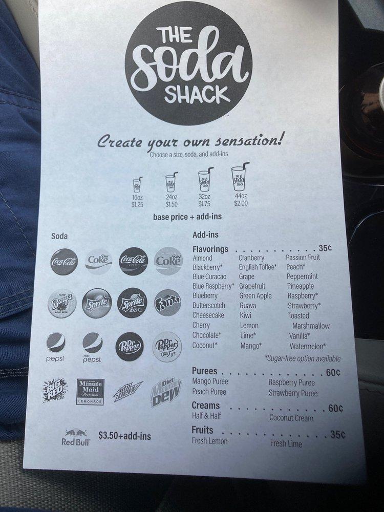 The Soda Shack: 5903 82nd St, Lubbock, TX