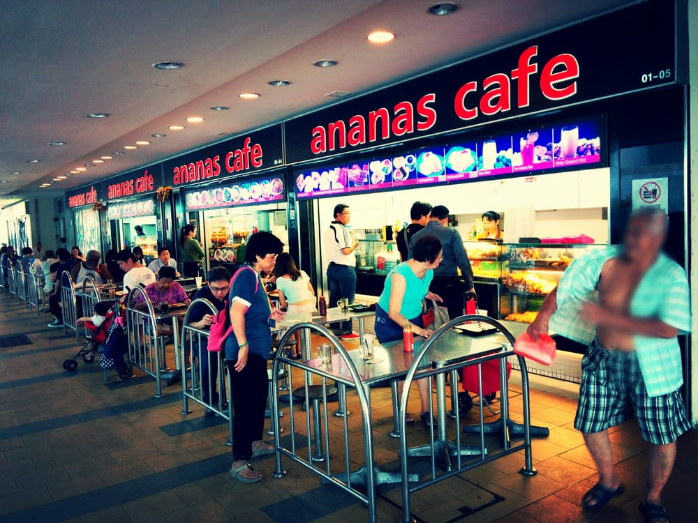 Ananas Cafe Singapore