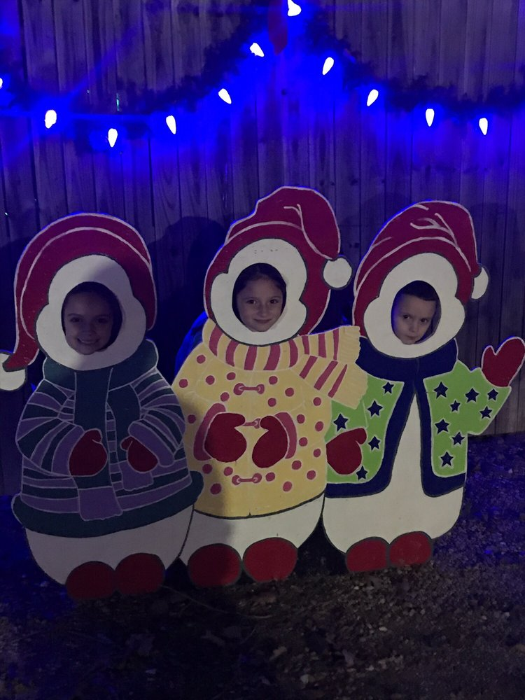 Christmas Park Land of Lights: 1500 NW Loop 7, Athens, TX