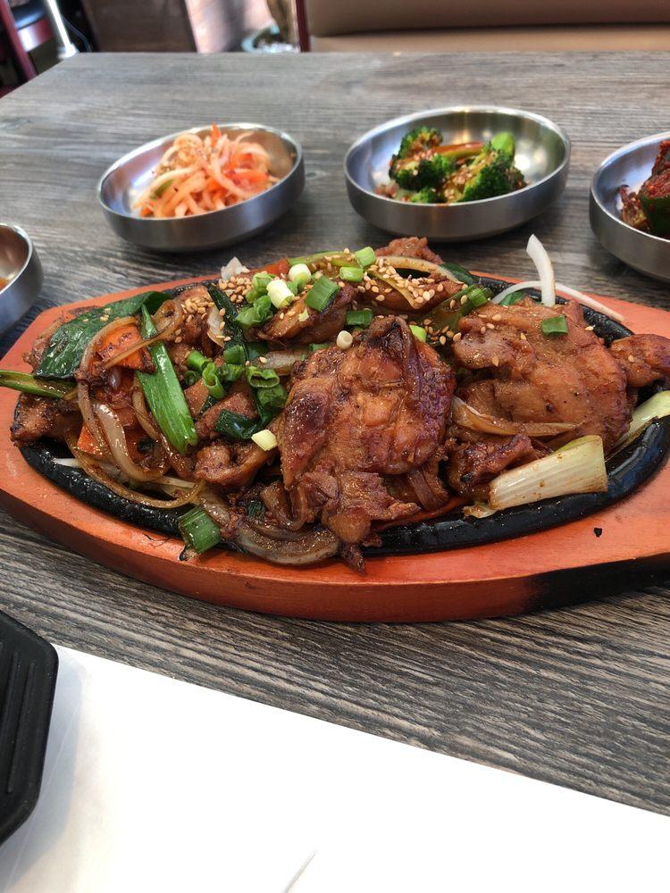 Dak bulgogi yelp for Korean restaurant garden grove