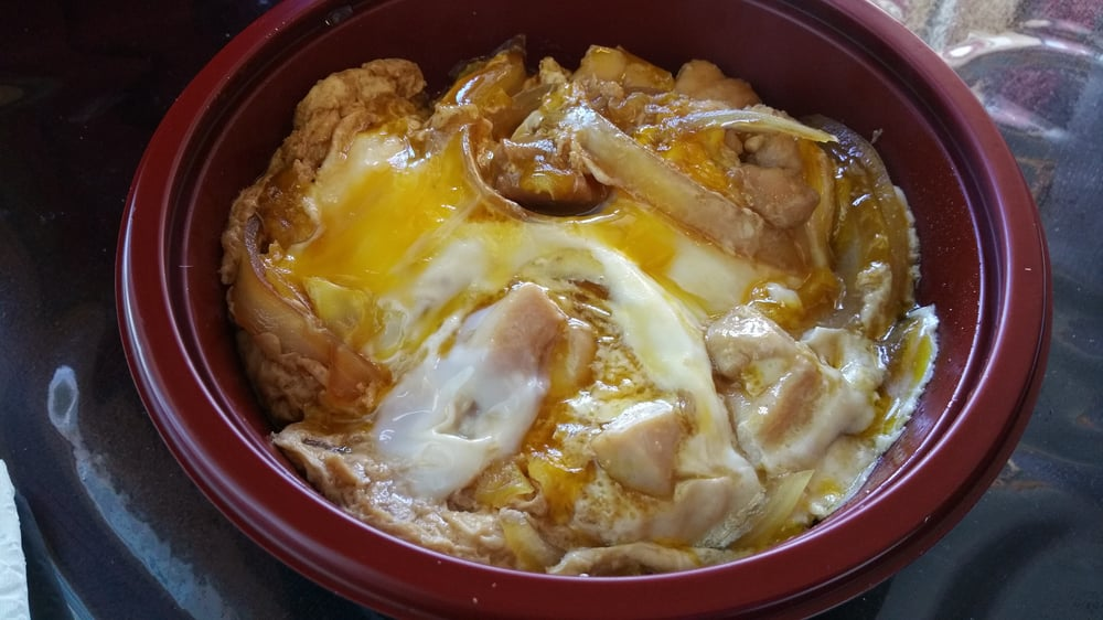 Oyakodon - Chicken donburi with a runny egg - Yelp