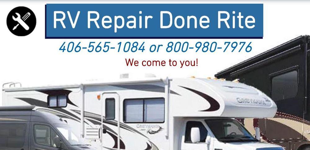 Done Rite Rv Mobile Repair: 9562 Futurity Dr, Missoula, MT