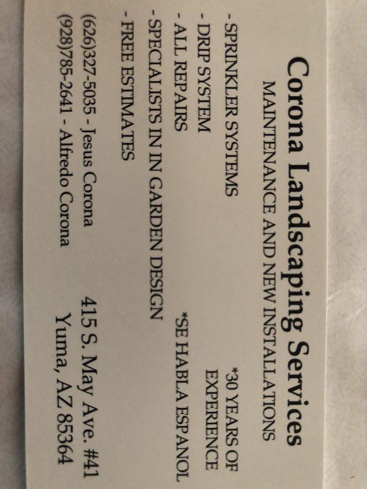 Corona Landscaping Services: 415 S May Ave, Yuma, AZ