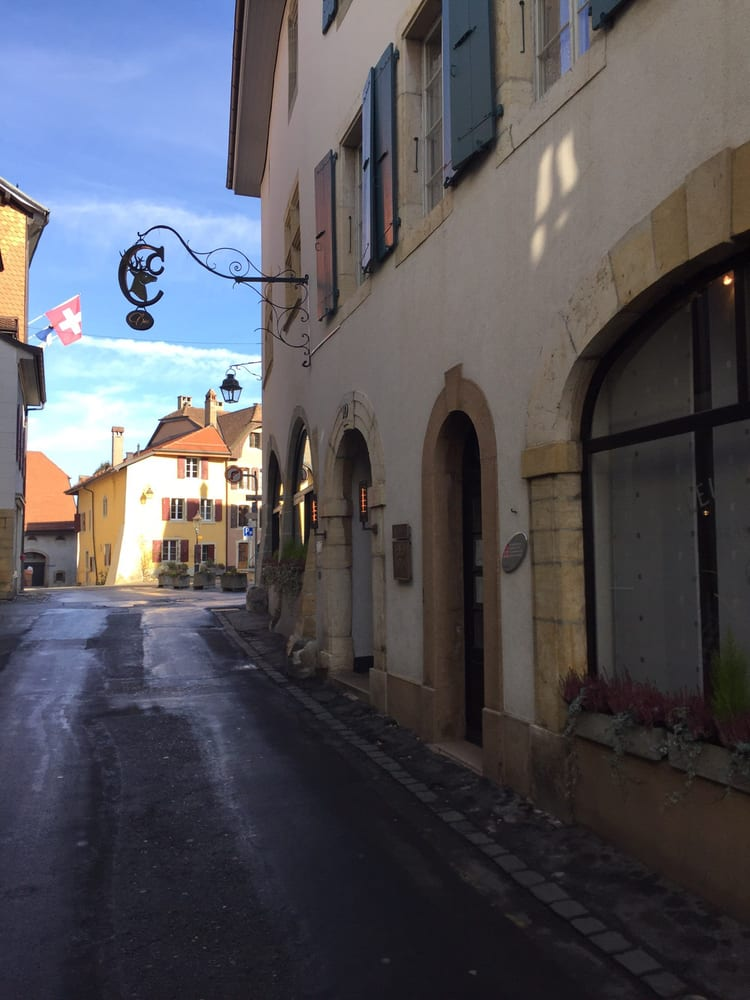Restaurant le Cerf - Cossonay-ville