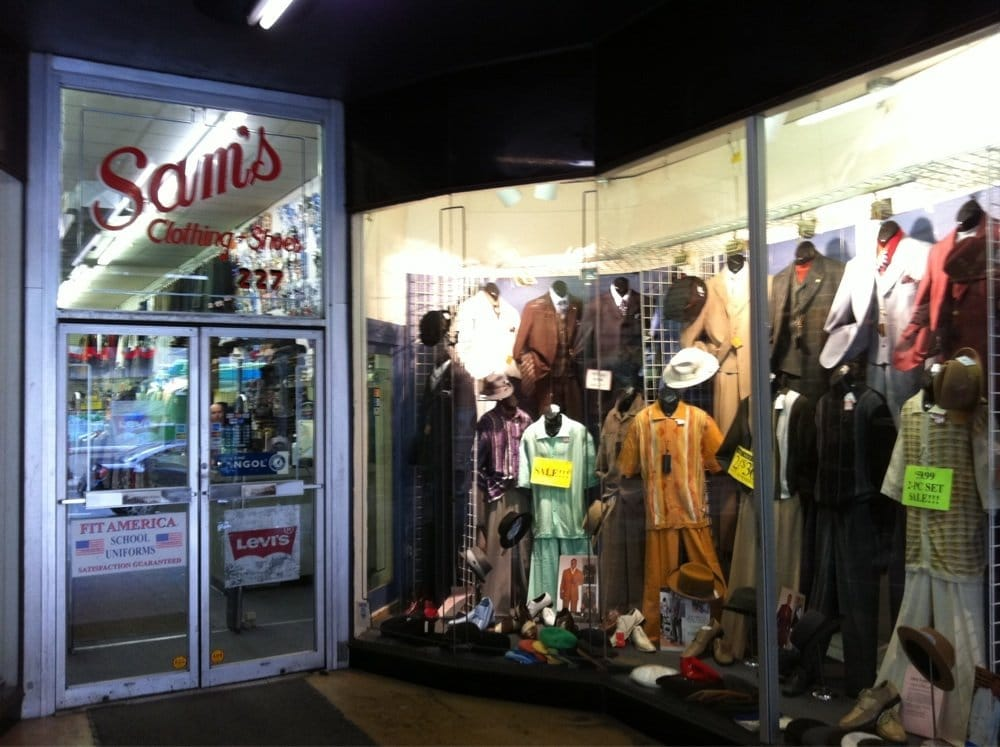 Sam's Clothing & Shoes
