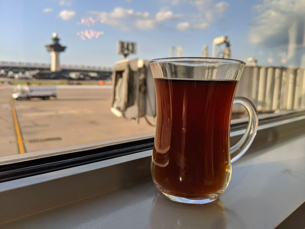 Turkish Airlines Lounge: 1 Saarinen Cir, Dulles, VA