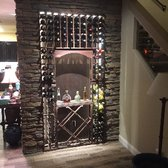 Photo Of Wine Cellar Innovations Cincinnati Oh United States Lined With Led