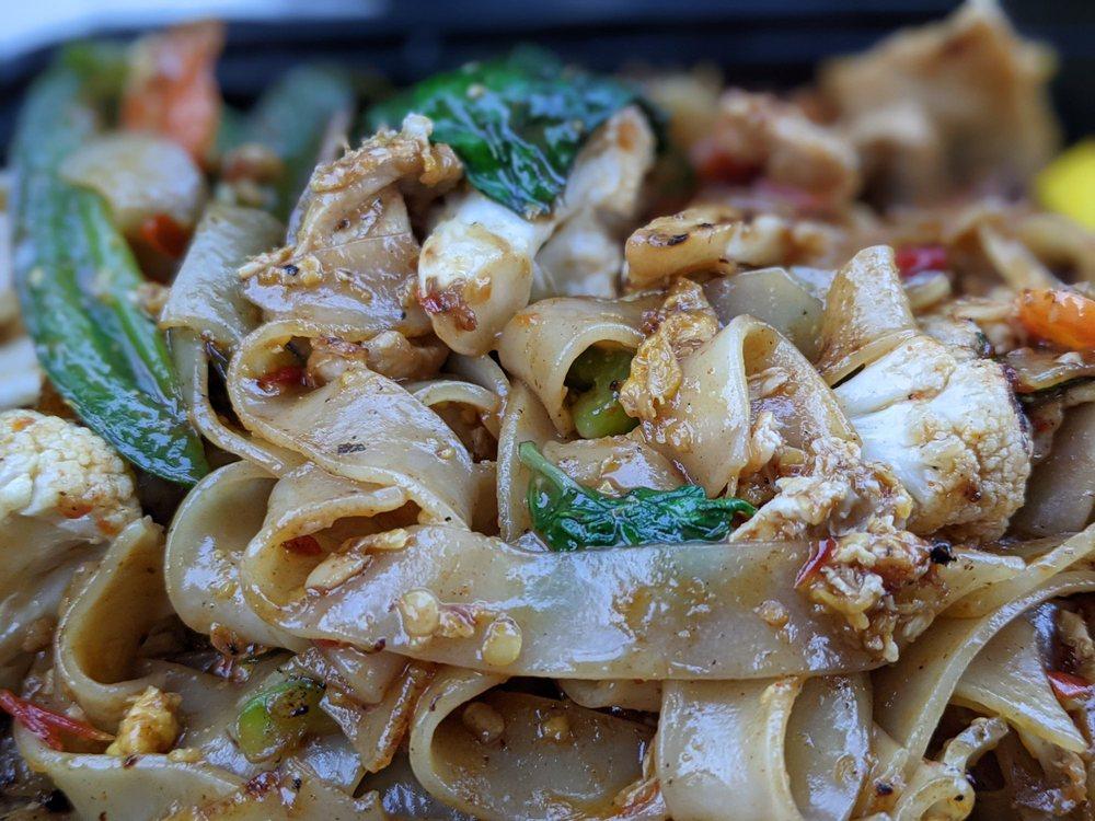 Food from Lemon Grass Thai Cuisine