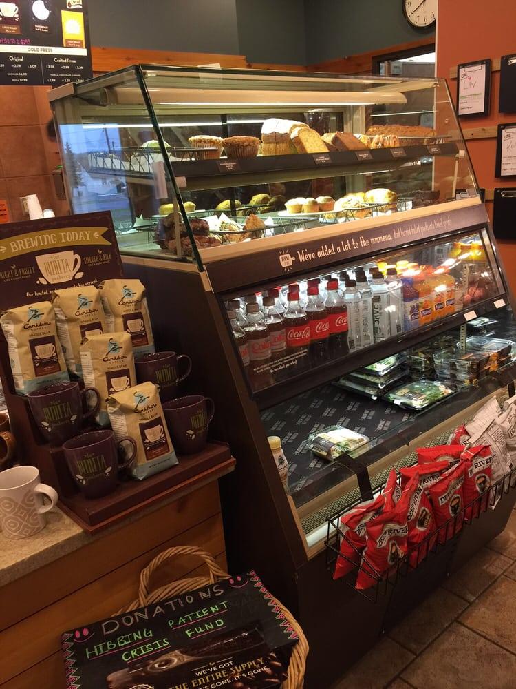 Caribou Coffee: 4100 9th Ave W, Hibbing, MN