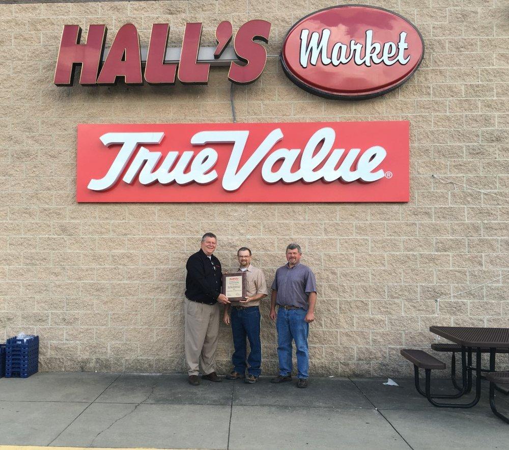 Hall's Market & True Value: 491 E Sycamore, Snow Shoe, PA