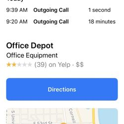 Office Depot - 5420 S Lake Park Ave, Hyde Park, Chicago, IL