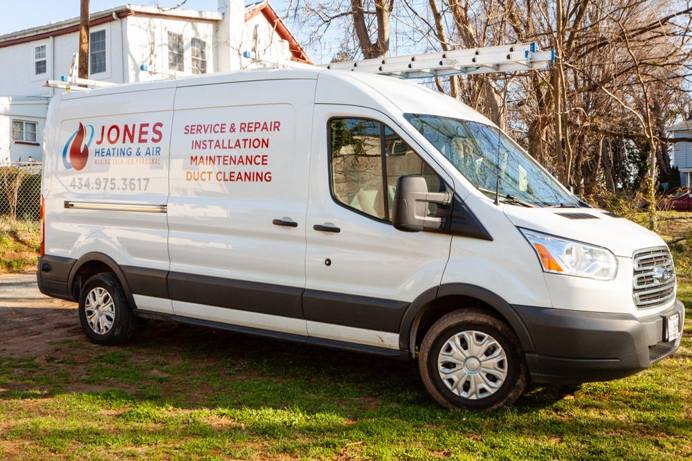 Jones Heating & Air: 633 Rose Hill Dr, Charlottesville, VA