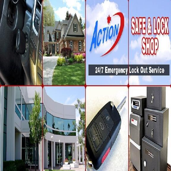 Action Safe & Lock Shop: 806 Veterans Hwy, Bristol, PA