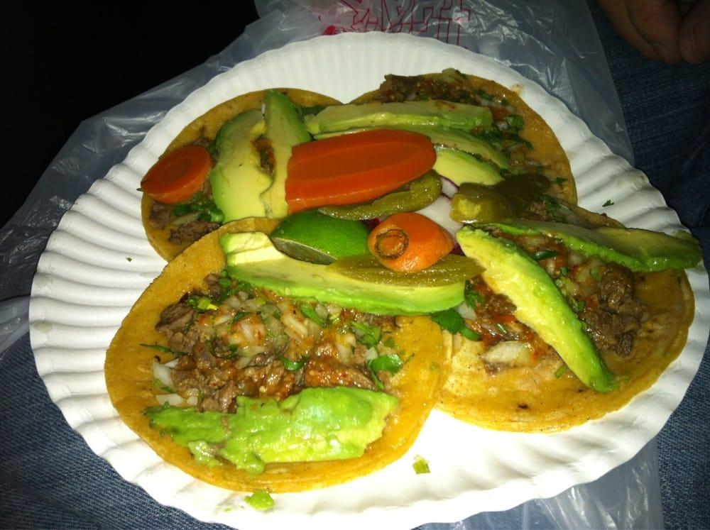 ... Autlense - Albany, CA, United States. Carne Asada Tacos with Guacamole