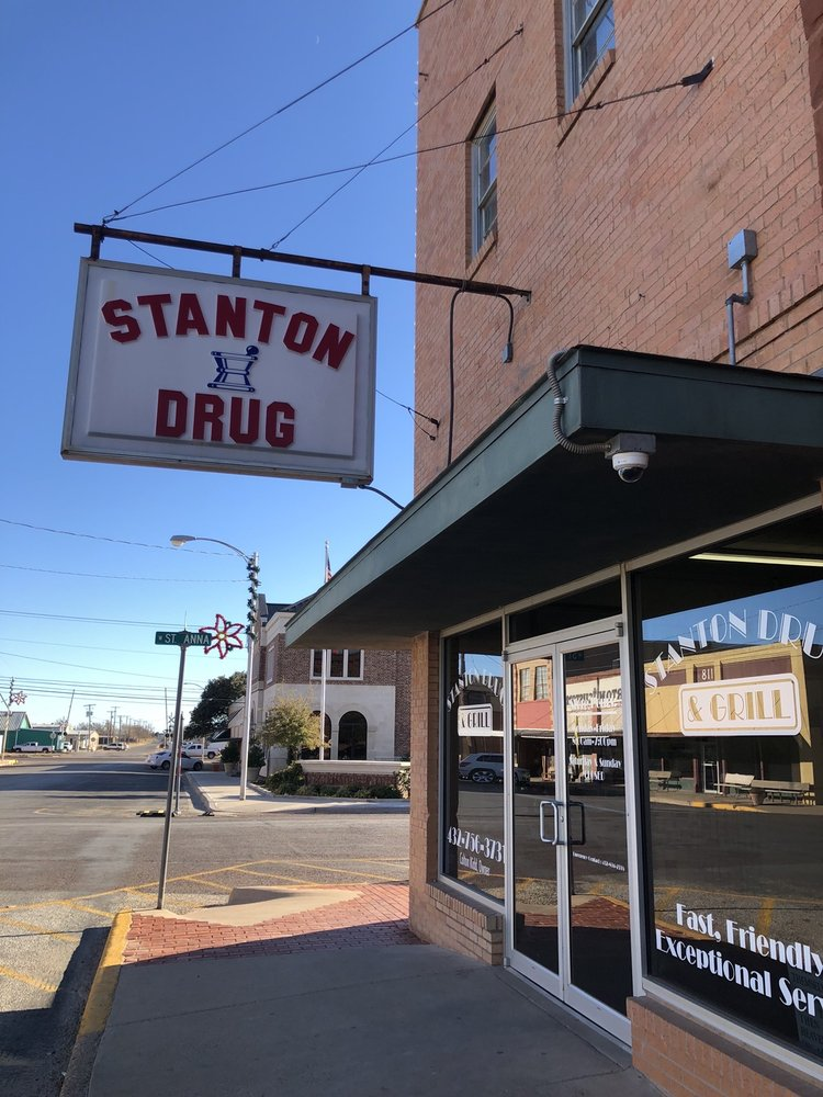 Stanton Drug: 201 N Saint Peter St, Stanton, TX