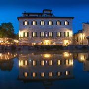 italy photo of albergo le terme bagno vignoni siena italy
