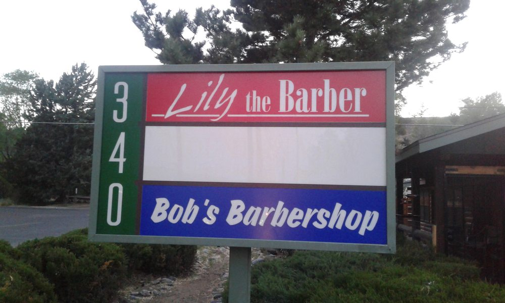 Bob's Barber Shop & Lily the Barber: 340 W Willis St, Prescott, AZ