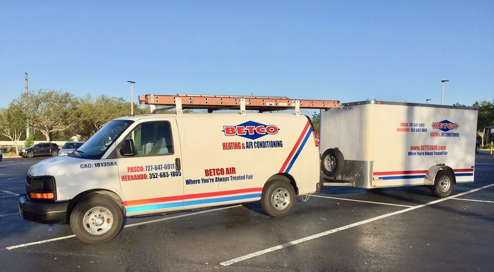 Betco Heating & Air Conditioning: 5186 Commercial Way, Spring Hill, FL