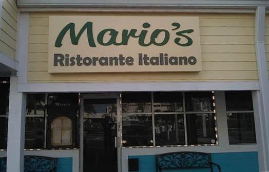 Mario's Ristorante: 14995 Gulf Blvd, Madeira Beach, FL
