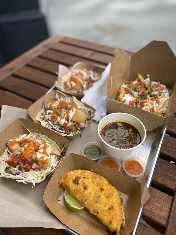 Food from Oakland Street Food Co