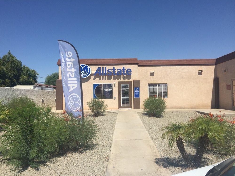 Allstate Insurance Agent: Christina Padilla: 801 S 2nd Ave, San Luis, AZ