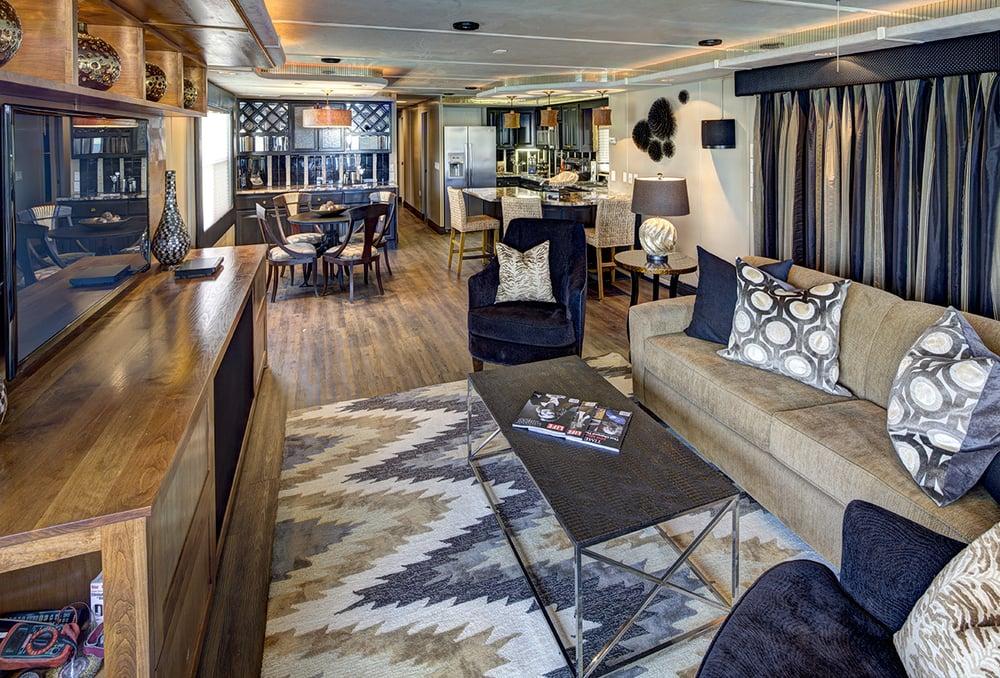 Remodeled Houseboat Design Lake Travis Tx Yelp