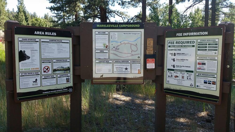 Markleeville Campground: Camp Marklee Rd, Sacramento, CA