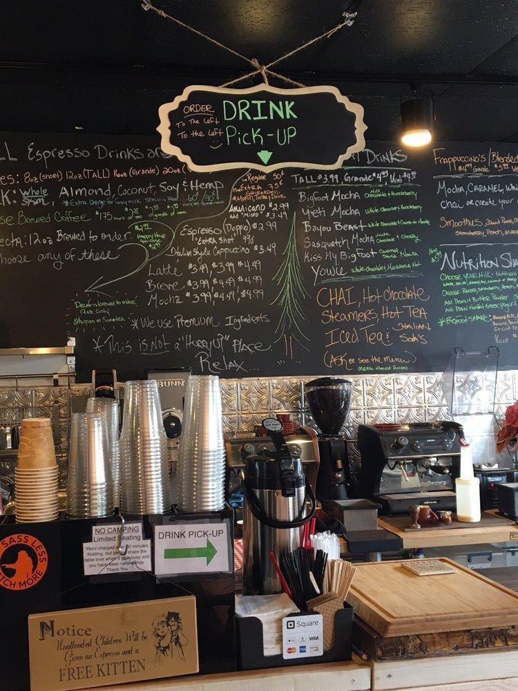 Bigfoot Coffee Roasters: 91 NW 2nd St, Stevenson, WA
