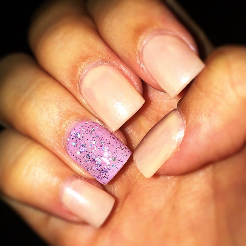 New nails! Acrylic full set ($20) & gel polish ($10)! thank you ...