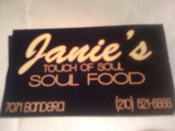 Janie s touch of soul ferm cajun 9107 marbach rd for Acadiana cafe cajun cuisine san antonio tx