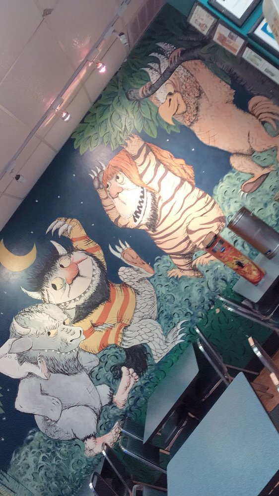 Where the Wild Things Are wall mural Yelp