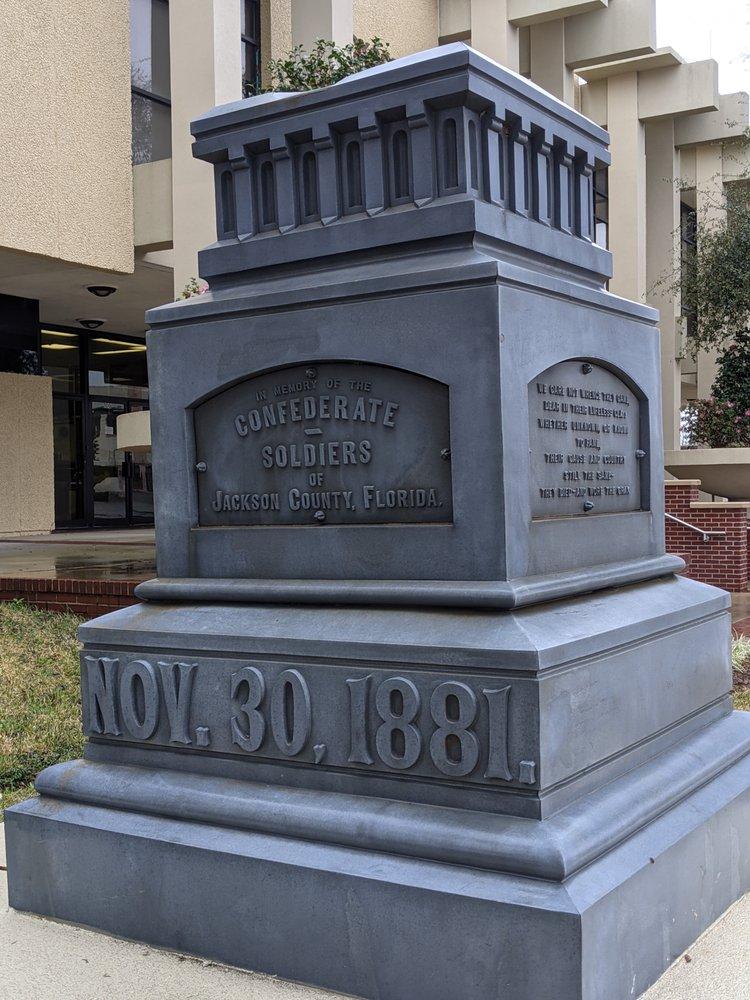 Jackson County Confederate Memorial: 4445 Lafayette St, Marianna, FL