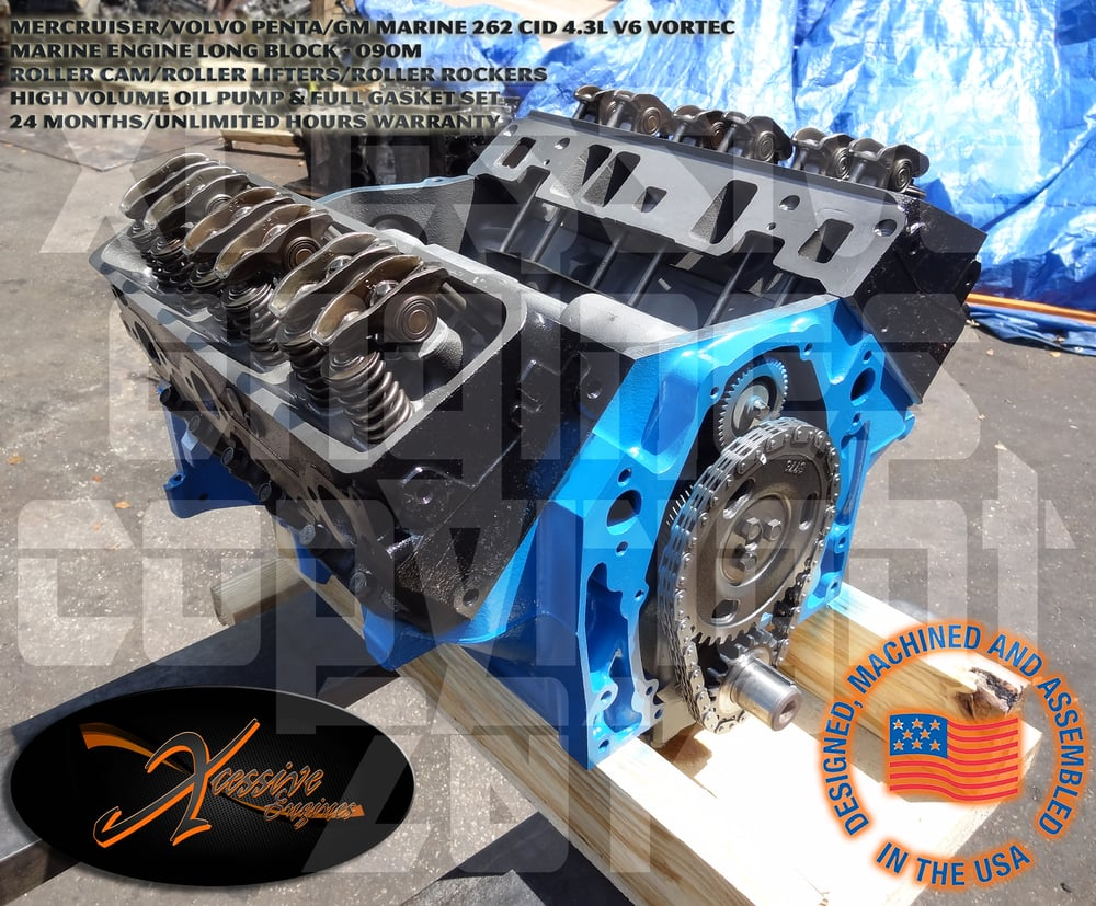 2000 up marine 262 4 3l v6 vortec 090m long block yelp for Marine corps motor transport characteristics manual