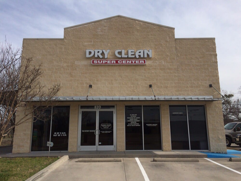 Dry Clean Super Center: 820 Highway 377 N, Argyle, TX