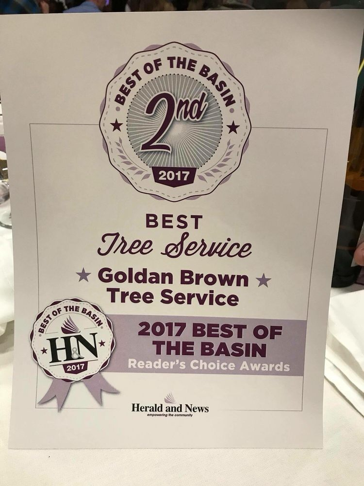 GoldanBrown Tree Service: 4629 Greensprings Dr, Klamath Falls, OR