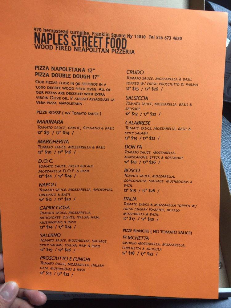 Naples Street Food Franklin Square New York