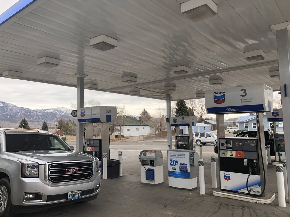 Chevron and Food Mart: 1301 E Aultman St, Ely, NV