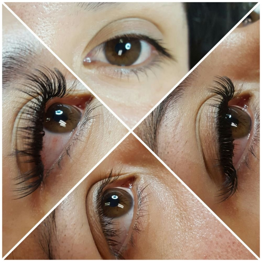 A Set Of Classic Eyelash Extensions Yelp