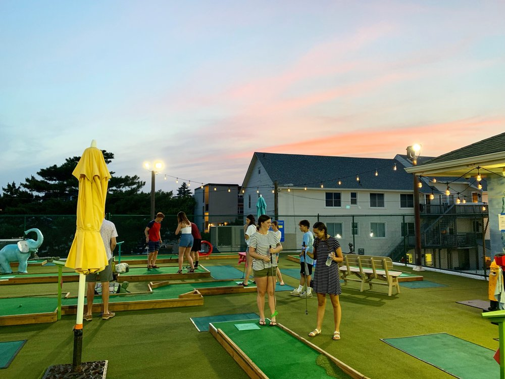 Ryan's Mini Golf: 1 Delaware Ave, Rehoboth Beach, DE