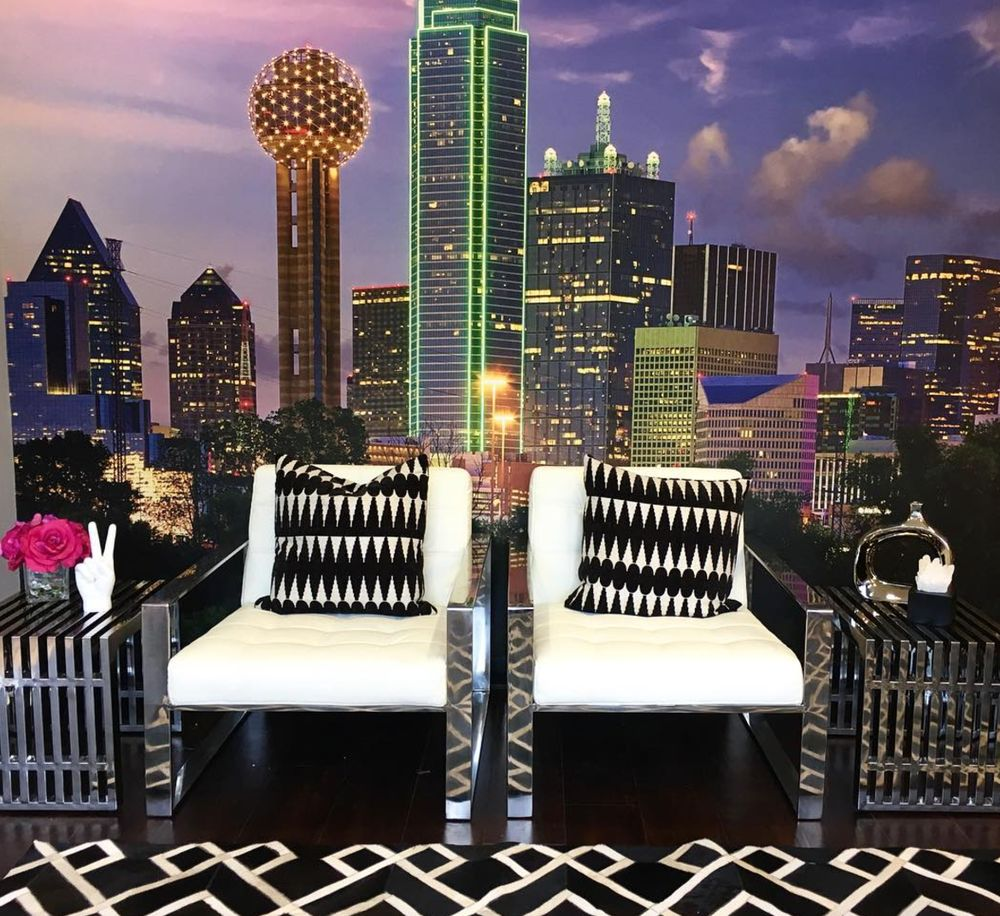 Come take a selfie at our Dallas Backdrop!  Yelp